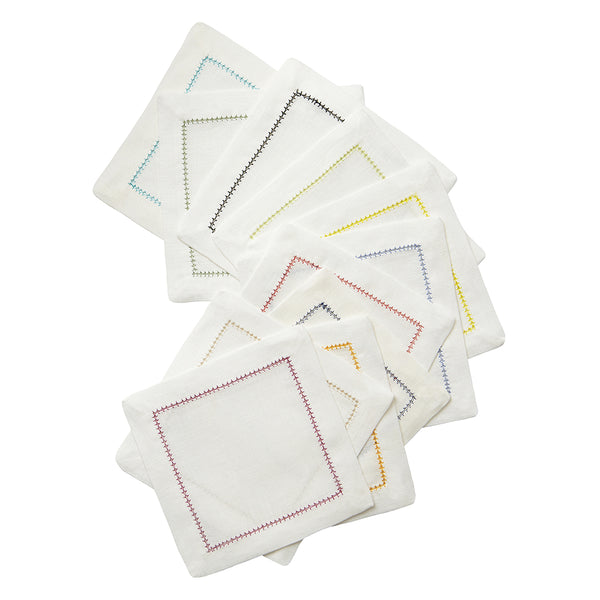 Dolce Colors Cocktail Napkins