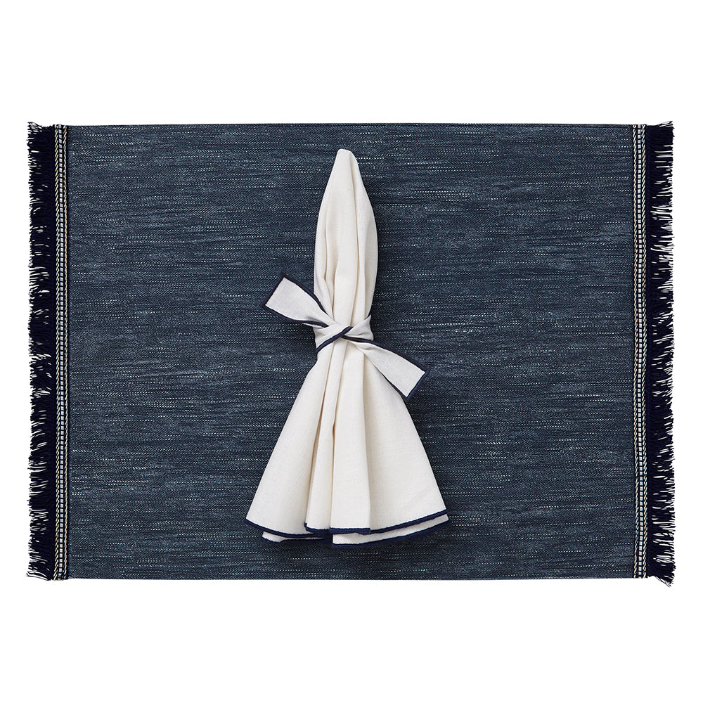 Fringe Placemats - Mode Living Tablecloths
