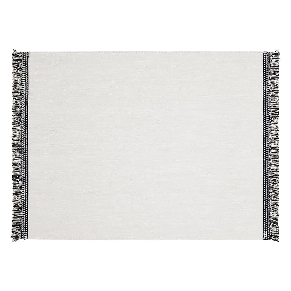 Fringe Placemats White Value Set
