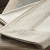 Geneva Tablecloth Taupe - Mode Living Tablecloths