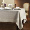 Greenwich Easycare Beige Linen Tablecloth - Mode Living Tablecloths