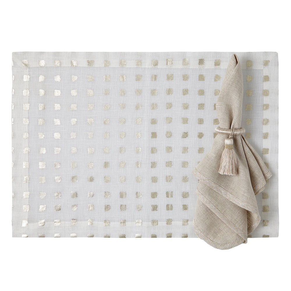 Antibes Placemats, S/4 - Mode Living Tablecloths