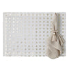 Mode Living easycare metallic placemats Antibes