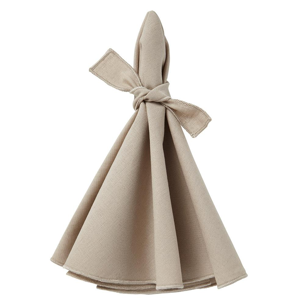 Napa Napkin Value Set Beige-Beige