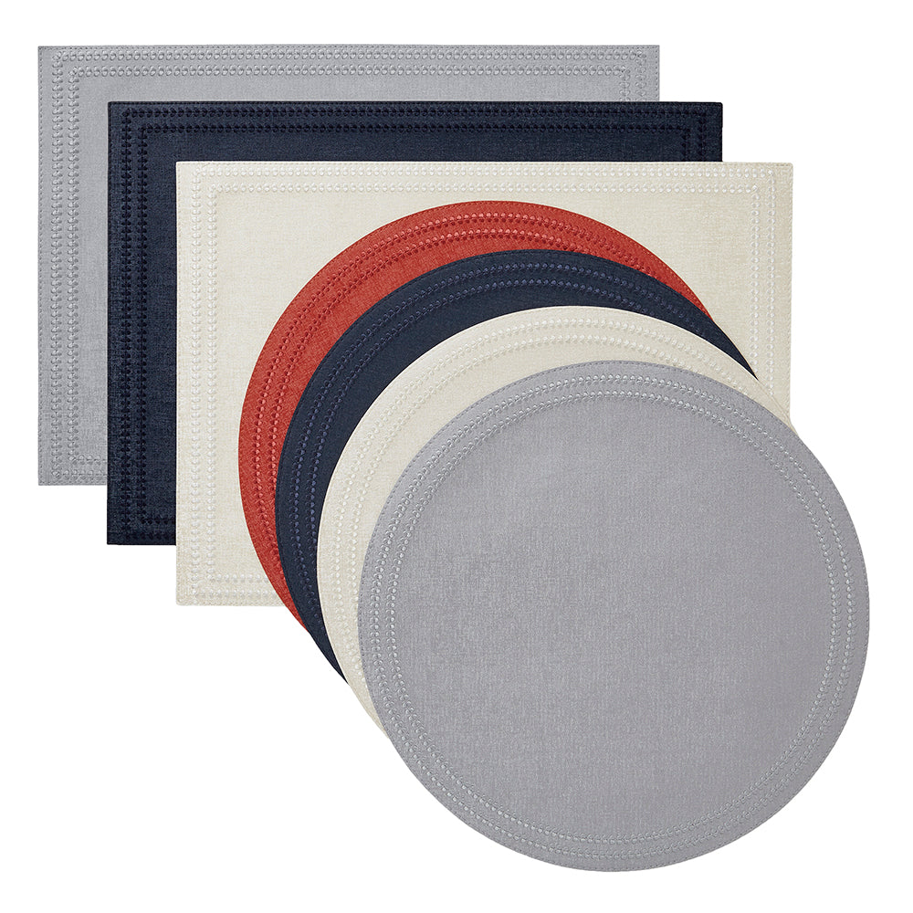 Paloma Placemats, S/4 Round