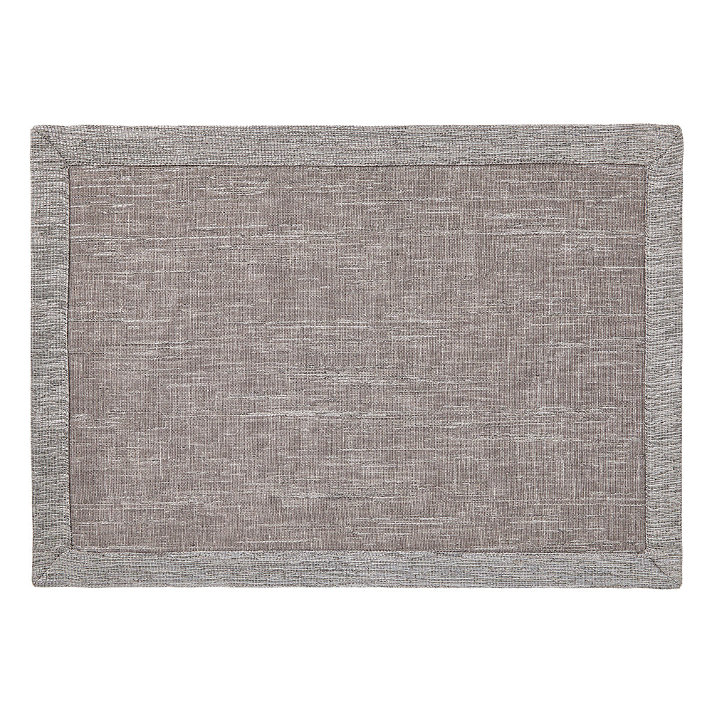 Mode Living Gray Metallic Placemats Tribeca 02