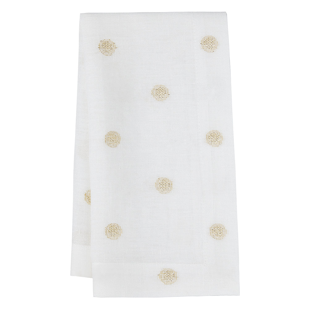 Vogue Napkins Metallic, S/4 - Mode Living Tablecloths