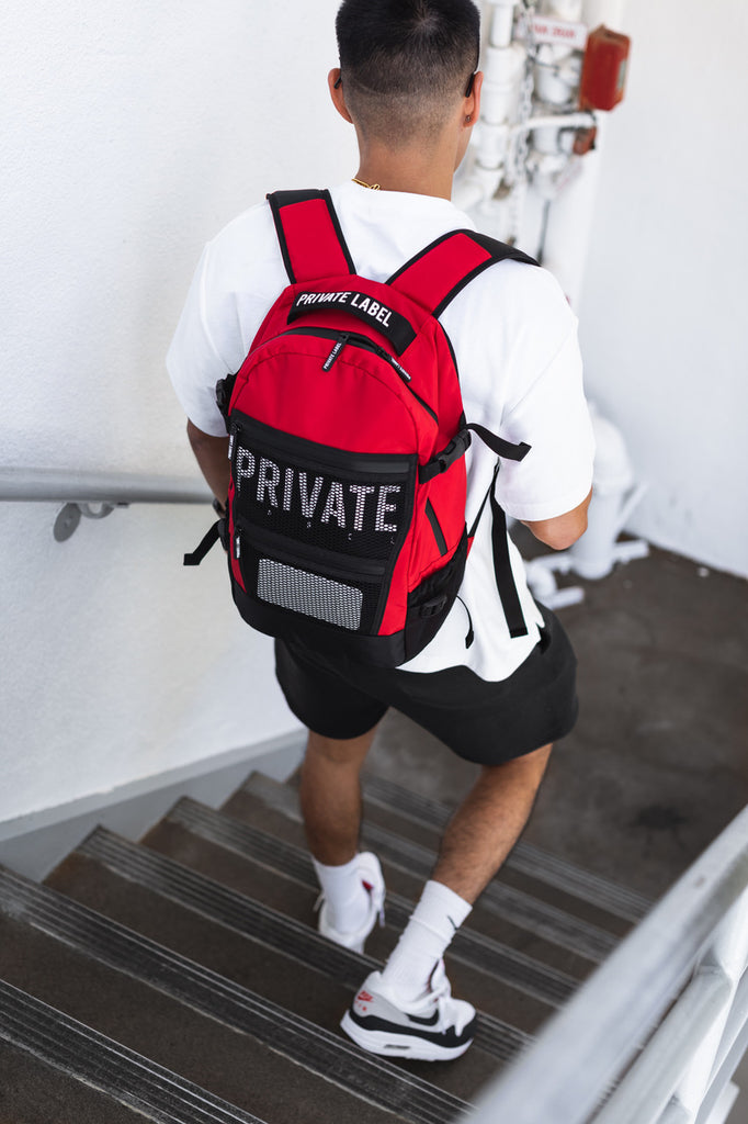 RED / BLACK - BACKPACK