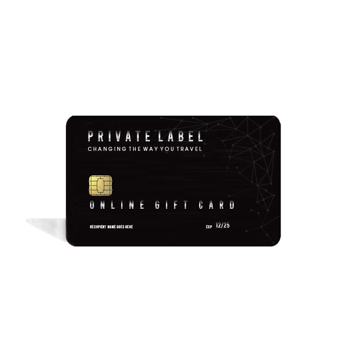 PRIVATE LABEL - GIFT CARD