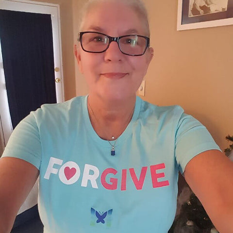 """Forgive"" Women's Shirts"