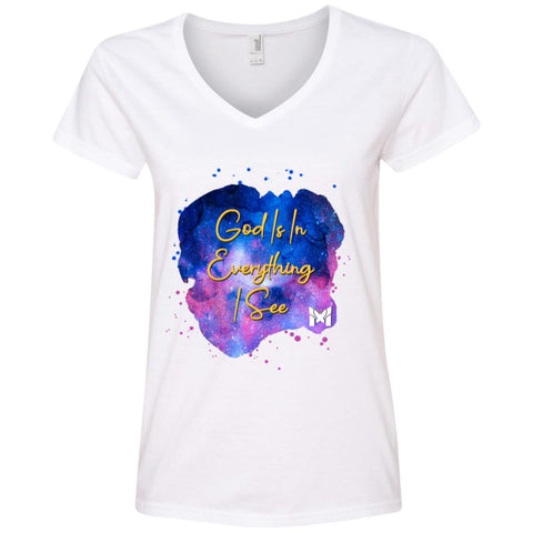 """God Is In Everything I See"" - Women's ACIM T-Shirts"