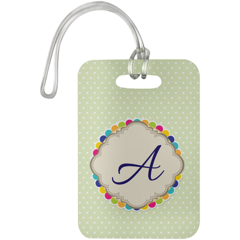 Unique Monogrammed Luggage Tags - Personalized Your Own