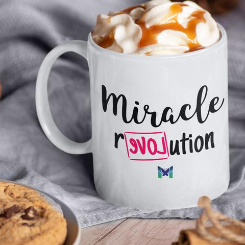 "ADDON: ""Miracle Revolution"" - Coffee Cup-Apparel-Default-The Miracles Store"