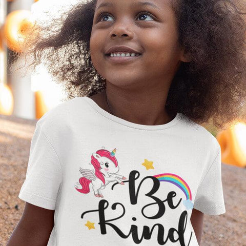 """Be Kind"" Shirts For Kids & Toddlers-Apparel-The Miracles Store"