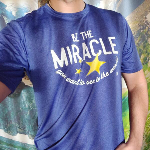 """Be The Miracle"" Men's Shirts"