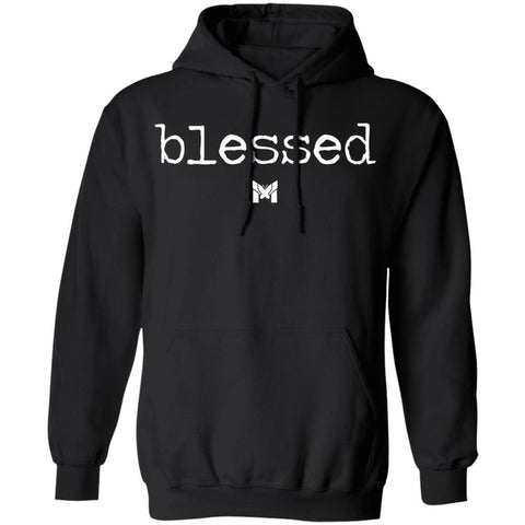 """Blessed"" Adult Hoodie Sweatshirt - Classic-Sweatshirts-Dark Grey-S-The Miracles Store"