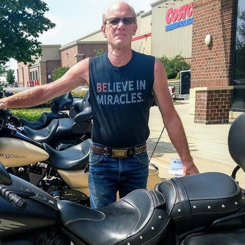 """Believe In Miracles"" Men's Shirts"