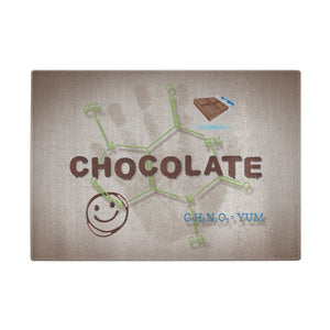 Chocolate Molecule Cutting Board - Cutting Boards - Chocolate Lovers Chocolate Molecule - -