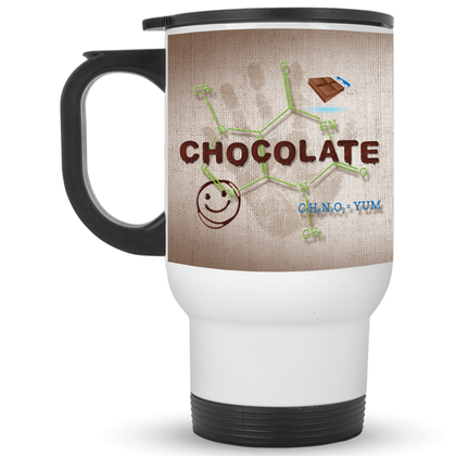 14oz. Travel Mug / White / One Size