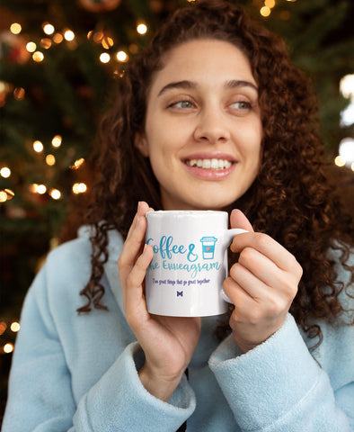 Coffee and the Enneagram - Mug / Cup-Apparel-The Miracles Store