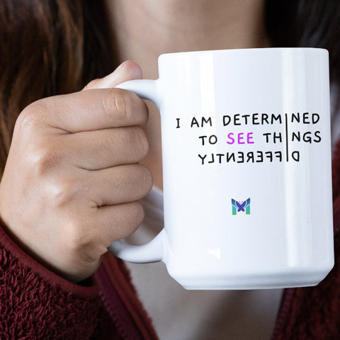 """See Things Differently"" ACIM Mug"