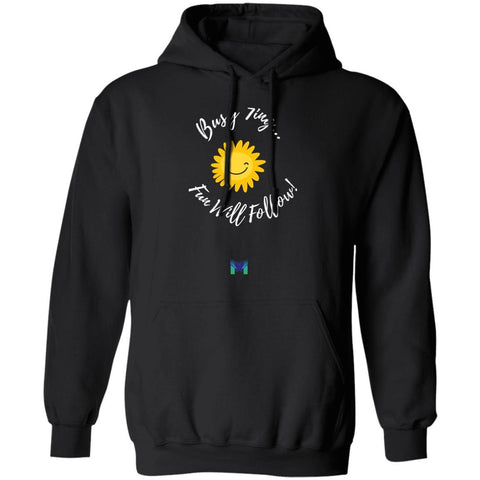 "Enneagram 7 ""Busy 7ing"" Hoodie - Unisex-Sweatshirts-Black-S-The Miracles Store"