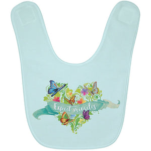 Expect Miracles Terry Baby Bib - Accessories - Green - One Size -