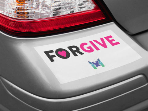 """Forgive"" - Sticker-Apparel-The Miracles Store"