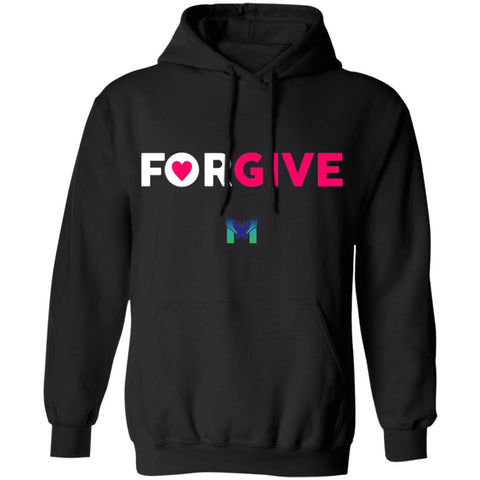 """Forgive"" - Sweatshirt Hoodie-Apparel-Black-S-The Miracles Store"