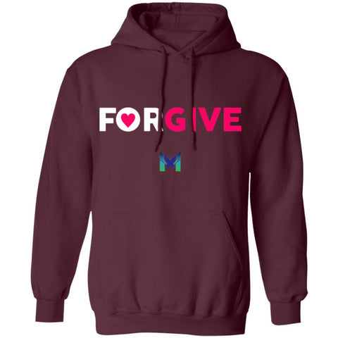 """Forgive"" - Sweatshirt Hoodie-Apparel-Maroon-S-The Miracles Store"