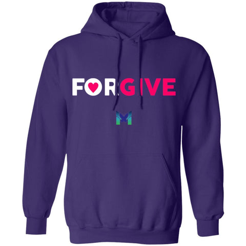 """Forgive"" - Sweatshirt Hoodie-Apparel-Purple-S-The Miracles Store"