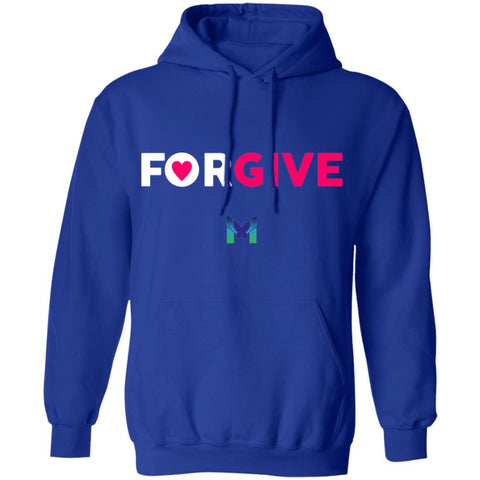 """Forgive"" - Sweatshirt Hoodie-Apparel-Royal Blue-S-The Miracles Store"