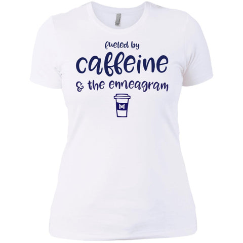 Fueled By Caffeine and the Enneagram - Women's T-Shirts-Apparel-The Miracles Store