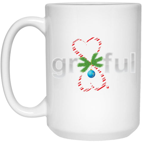 """Gr8Ful Heart"" Mugs - Holiday Edition - Accessories - Candy Cane - -"