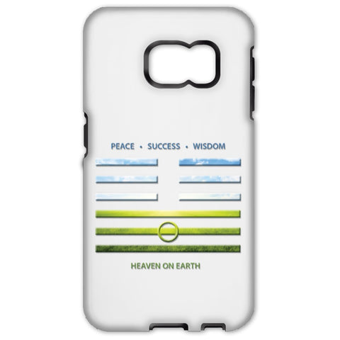 Heaven On Earth - I Ching - Cell Phone Cases - Apparel - Samsung Galaxy S6 Edge - Tough -