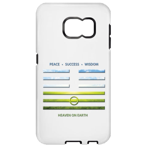 Heaven On Earth - I Ching - Cell Phone Cases - Apparel - Samsung Galaxy S6 - Tough -