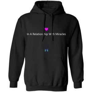 """In A Relationship With Miracles"" - Unisex Hoodie Sweatshirt-Apparel-Black-S-The Miracles Store"