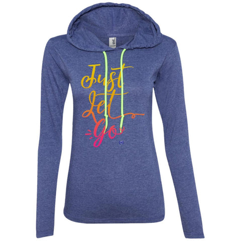 Just Let Go - Sunshine - Women's Lightweight T-Shirt Hoodie