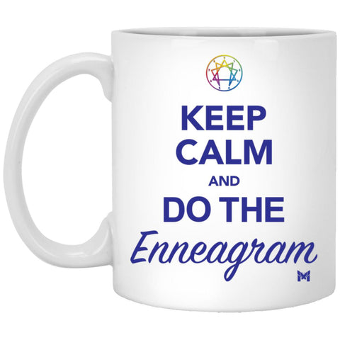Keep Calm And Do The Enneagram - Coffee Cup-Apparel-White-Small (11oz)-The Miracles Store