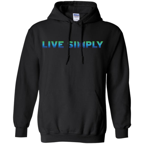 """Live Simply"" Colorful Unisex Hoodies"
