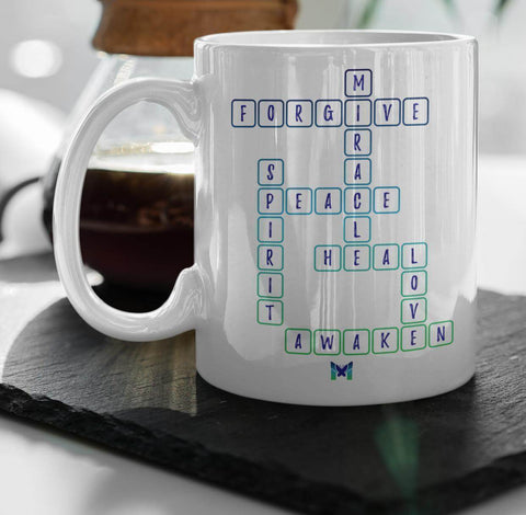 """Miracle Crossword"" Mug"