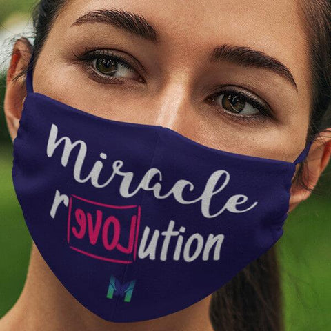 """Miracle Revolution"" Face Mask-Apparel-The Miracles Store"