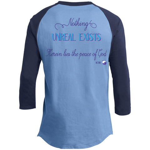 Nothing Real Can Be Threatened - Men's Two-Sided Shirts - ACIM-Apparel-The Miracles Store