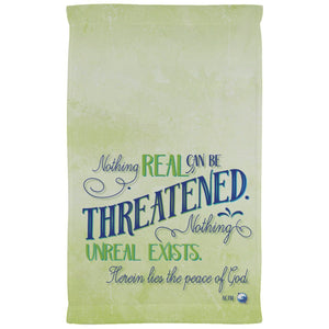 Nothing Real Kitchen Towel - 11 x 18 Inch - Towels - White - One Size -