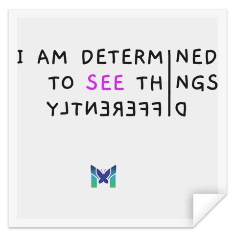 """See Things Differently"" - Sticker-Accessories-S-The Miracles Store"