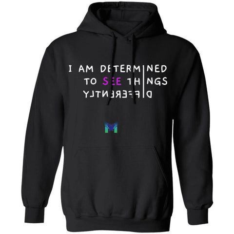 """See Things Differently"" - Unisex Hoodie-Apparel-Black-S-The Miracles Store"
