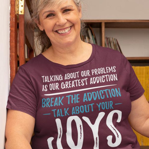 """Talk About Your Joys"" Unisex T-Shirt-T-Shirts-The Miracles Store"