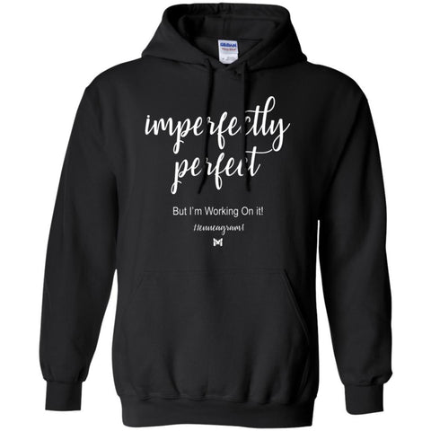 "Type 1 - ""Imperfectly Perfect"" Unisex Hoodie-Apparel-Black-S-The Miracles Store"