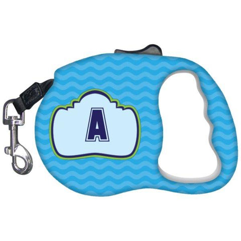 Unique Gifts - Monogrammed Dog Leash-Pet Accessories-Blue-The Miracles Store