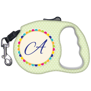 Unique Gifts - Monogrammed Dog Leash-Pet Accessories-Colorful/Green-The Miracles Store